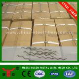 Hormigón de refuerzo de fibra de carbono, fibra de acero