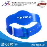Wristband novo do PVC do Lf 125kHz Tk4100 RFID do material