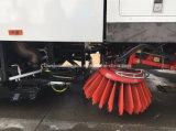Дорога Dongfeng щеточная машина 6000L Стрит очистить и промыть погрузчика
