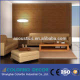 Materiales interiores de madera panel decorativo de pared vaneer