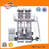 ABA twin Screw Two the film Blowing plastic Machine