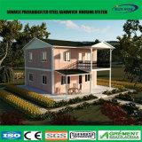 Casa fabricada casa prefabricada prefabricada diseño modificada para requisitos particulares del envase del chalet del panel de Sanwich