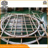 Espiral de grafito de metal de la junta de la herida con una excelente construcción e instalación Performanceexcellent choque térmico resistencia