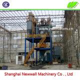 20tph seco automática completa de la planta de procesamiento por lotes de mortero de cemento cola