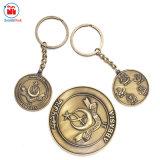 Euroart-förderndes Geschenk-Metallalte Münze Keychain