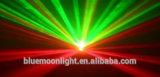 Dois furos de luz laser laser vermelho e verde