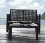 Sofà esterno della mobilia del giardino di piegatura di grande quantità accatastabile più poco costosa di caricamento impostato (YT216)