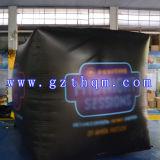Quadratischer bekanntmachender aufblasbarer Ballon