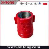 Riduttore concentrico filettato in ferro duttile rosso approvato FM/UL per incendio Protezione da combattimento