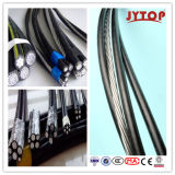 Overhead 세겹 ABC Aerial Bundled Cables와 Underground Cable (URD 철사)