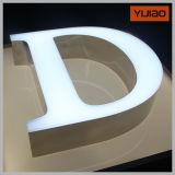 Carta antioxidante del alfabeto de la iluminación delantera con la cara PMMA