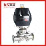 Мембранный клапан SS316L с приводом одиночной функции нержавеющей стали пневматическим