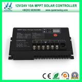 10A Controlemechanismen van de Lader van het Controlemechanisme MPPT van het Systeem van de 12/24V ZonneMacht de Zonne (qw-MT10A)