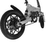 Мини-электрический велосипед, СКЛАДНАЯ E-велосипед, 14дюйма E велосипед