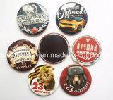 記念品のギフトショップの販売のための昇進の円形の印刷された冷却装置磁石