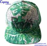 Fábrica plana de los sombreros y de los casquillos del Snapback del borde