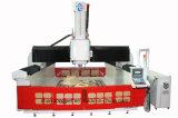 Molde de tres ejes Router CNC de aluminio de materiales de madera