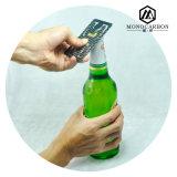 Изготовленный на заказ многофункциональный плоский консервооткрыватель бутылки владельца карточки зажима деньг волокна углерода
