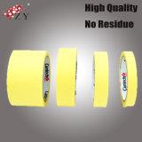 Zhanye 333 gelbe beste Qualitätsstarker selbsthaftendes Kreppband-Klebstreifen