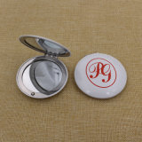 Le maquillage rond en aluminium et le miroir le plus bon marché / Compact / Pocket / Cosmetic Mirror with Custom Logo