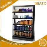 Étalage d'étage de shampooing en métal de ventes en gros