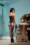 Оптовая торговля высокая эластичность Sexy Женское нижнее бельё Bodystocking BS8811