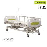 HK-N203 3 기능 수동 병상 (의학 침대 또는 의료 기기 또는 환자 침대)