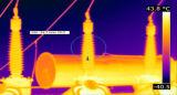 Macchina fotografica di registrazione di immagini termiche di rilevazione PTZ di temperatura