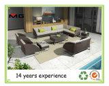 Садовая мебель диван в разрезе с помощью металлической опоры
