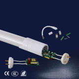 360 Degré 2835 SMD du feu du tube à LED T8, a conduit le tube de verre, le verre tube LED 1200mm