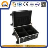 Cassa di alluminio nera professionale del carrello dello strumento per (HT-5201)