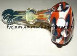 Formas animais que fumam a tubulação do vidro do bebedoiro automático