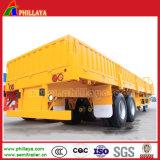 Am meisten benutzter seitliche Wand-LKW-halb Schlussteil für Behälter-Ladungen