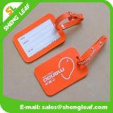 Etiqueta de goma suave del equipaje del PVC que viaja (SLF-LT074)