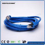 FTP CAT6 cable de conexión de red de cobre trenzado con chapado en oro Los conectores de 30 pulg.