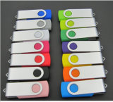 Mais popular e moda Swivel USB Stick em 8GB 16GB, 32GB