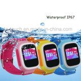 反失われた機能およびSosボタンY5wが付いている防水子供GPSの追跡者の腕時計