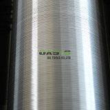 """AISIの連続的なスロット8-5/8 """"井戸の鋭いワイヤーによって包まれるスクリーン"""