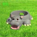 Glückliches Land-neues Entwurfs-Flusspferd-aufblasbarer Prahler für Kinder