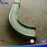Transporte de correia do produto comestível para o aço inoxidável de máquina de empacotamento transporte de correia da curva de 180 graus