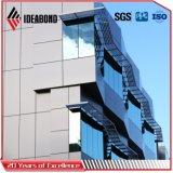 Ideabond 폴리에스테 알루미늄 합성물 Panel/ACP (밝은 파란색 AE-36A)