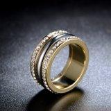 جديد نمو مجوهرات [أودي] شبه جزيرة عربيّة بلّوريّة نوع ذهب [ودّينغ رينغ] سعر