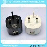 Портативное перемещение 5V 2.1A удваивает переходника AC заряжателя стены USB (ZYF9029)