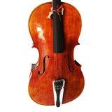 Professionele Met de hand gemaakte Echte Natuurlijke Cello 4/4 van de Vlam
