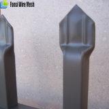 Rete fissa decorativa poco costosa nera del ferro saldato di alta qualità con la freccia