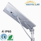 indicatore luminoso di via solare di 60W LED con il comitato solare, il regolatore intelligente di movimento & la batteria