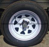 (15X7 15X8 16X7 16X8) rotella d'acciaio del rimorchio per il pneumatico del rimorchio
