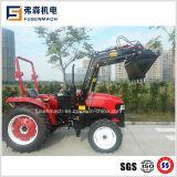 Ce aprobada 45CV Tractor de ruedas JM454e con cargador frontal