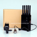 8本のアンテナPortable GPS WiFi 3G 4G Mobile Phone Signal Jammer Blocker Lojack Jammer
