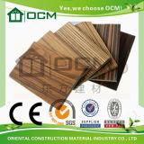 Tarjeta decorativa laminada MGO sana ambientalmente incombustible de la impermeabilización